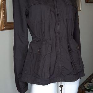 Cache cache cotton jacket w. Hood